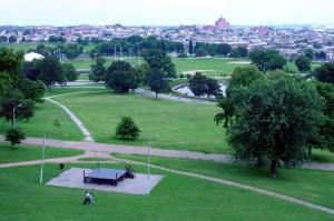 patterson park ariel view