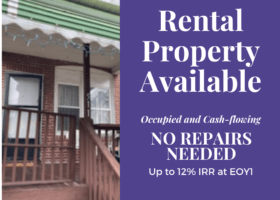 Turn Key rental available