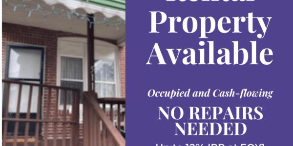 Turn Key rental available